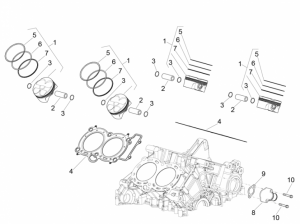 Engine - Cylinder - Piston