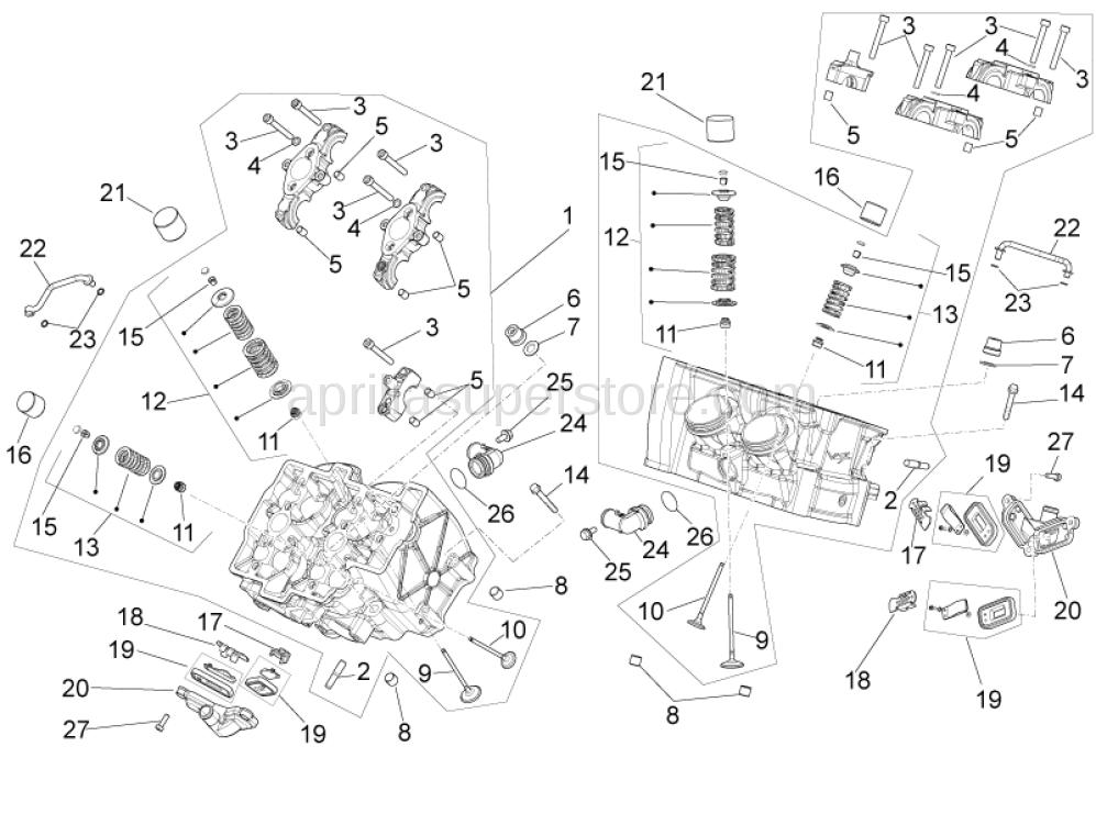 Exhaust Valve Spring Kit