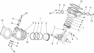 Engine - Cylinder With Piston