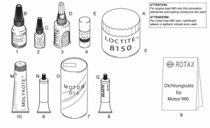 Engine - Sealing And Lubricating Agents
