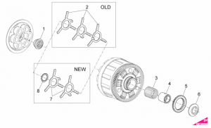OEM Engine Parts Diagrams - Clutch I