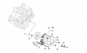 OEM Engine Parts Diagrams - Cover