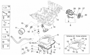 OEM Engine Parts Diagrams - Lubrication