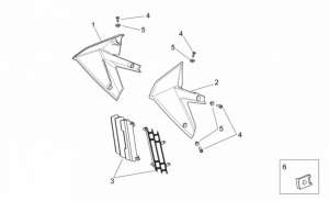 OEM Frame Parts Schematics - Front Body II
