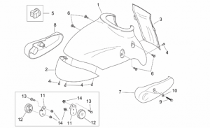 Frame - Front Body - Front Mudguard