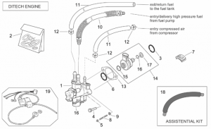 ia parts scooters oem sr 50 h2o ditech carb 00 04 click to enlarge