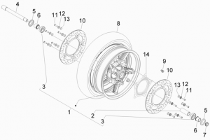 Suspensions - Wheels - Front Wheel
