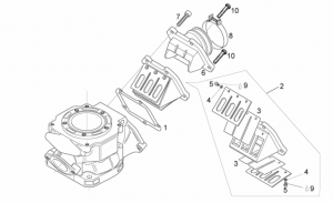 Engine - Carburettor Flange
