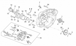 Engine - Clutch Cover