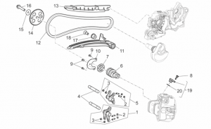 Engine - Front Cylinder Timing System
