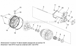 Aprilia - COVER CLUTCH SIDE GASKET