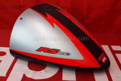Aprilia - Rear fairing, black d./grey s.