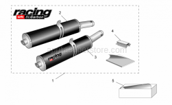 Aprilia - Soundproofing cartridge assy.