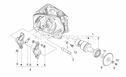 Aprilia - Screw w/ flange M6x14