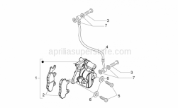 Aprilia - Oil pipe screw M10x18