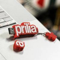 Aprilia - 4gb usb key grey/red