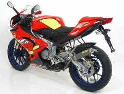 Arrow Special Parts - ARROW MINI THUNDER TITANIUN FULL SYSTEM KIT INTERCHANGEABLE WITH THE ORIGINAL FOR APRILIA RS 125 (2007-2011)