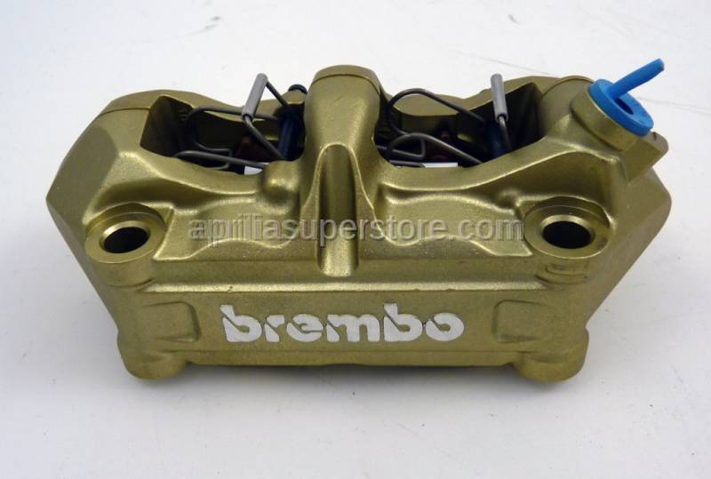 Brembo - Brake caliper P4/34 right gold w/ 07BB0510 100mm