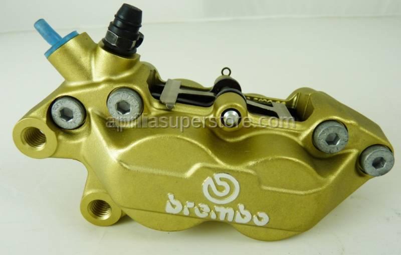 Brembo - Front Brake Caliper - P4 30/34C Gold Caliper (Left Side) 40mm
