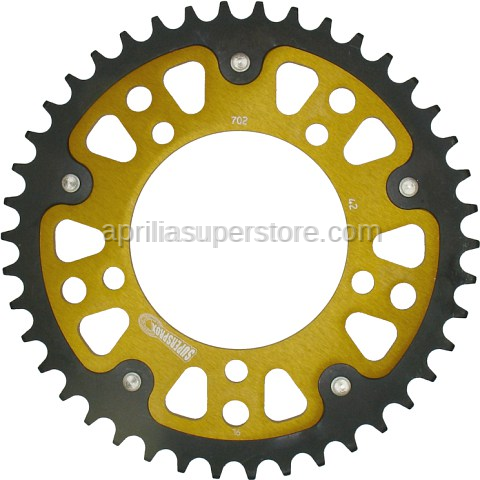 Supersprox - Rear Sprocket by Supersprox for 520 chain conversion