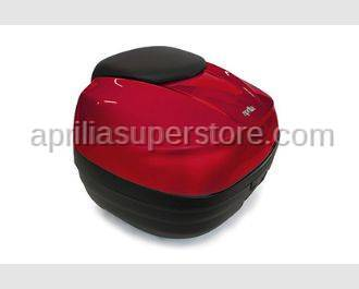 Aprilia - TOP CASE 40 LT RED WITH FIXING PLATE