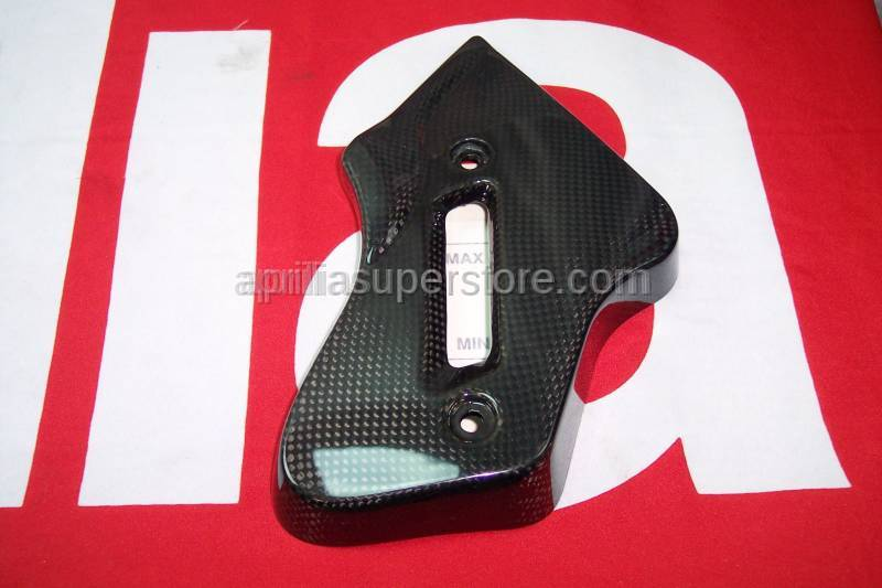 Aprilia - Radiator Cowl lower, Carbon, 07-08Tuono