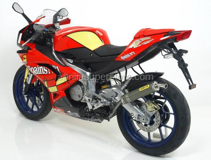 Arrow Special Parts - ARROW STREET 2T APPROVED EXHAUST KIT FOR APRILIA RS 125