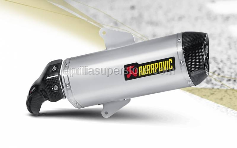 Akrapovic - Aprilia SRV 850 Slip-On Line (SS) SRV850 exhaust