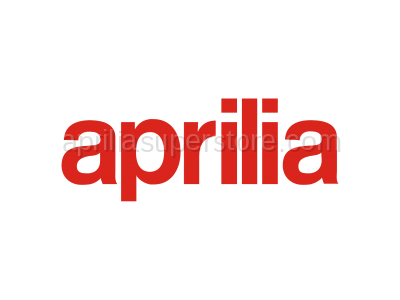 Aprilia - LH rear fairing, white