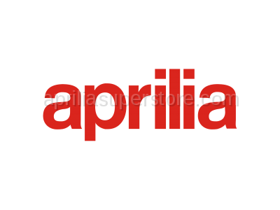 Aprilia - Rear saddle, red