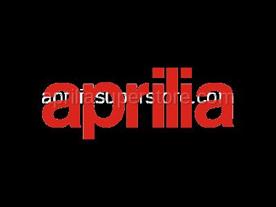 Aprilia - Rear saddle, grey/black