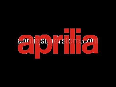 Aprilia - LH rear panel, red