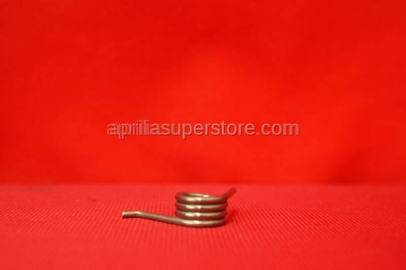 Aprilia - Footrest return spring