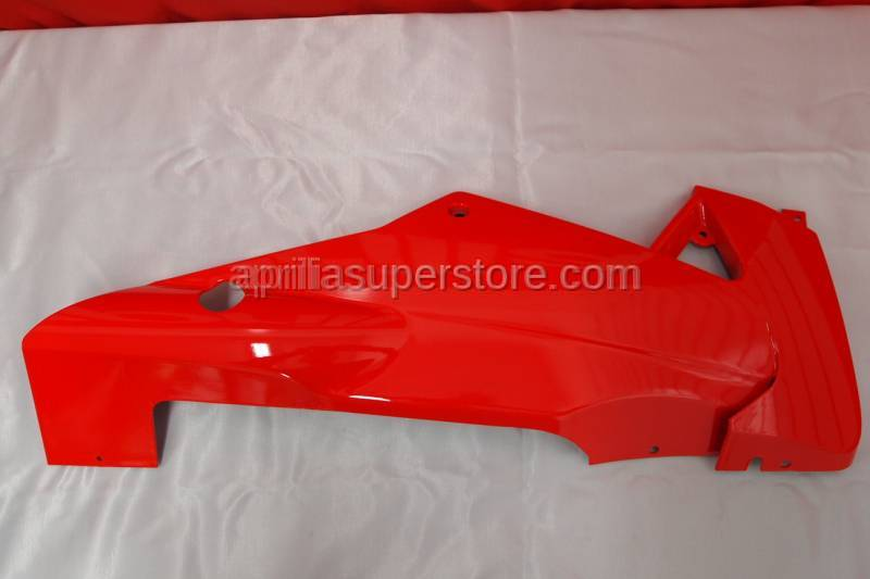 Aprilia - RH lower fairing, fluo red