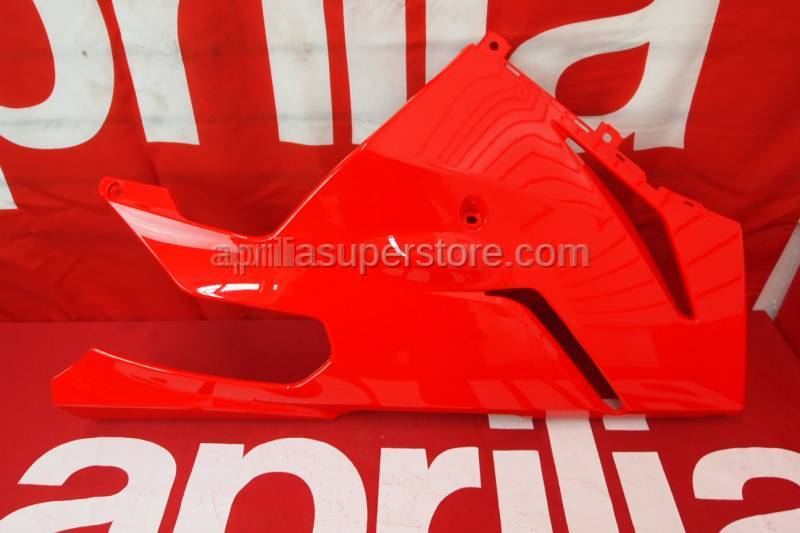 Aprilia - RH side panel,lower v.rosso