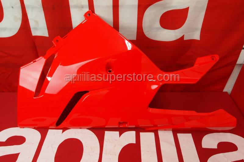 Aprilia - LH side panel, lower v.rosso