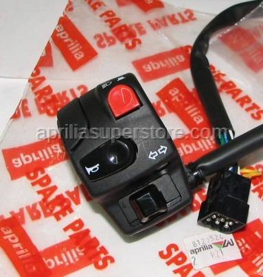 Aprilia - LH lights selector SUPERSEDED BY AP8127524