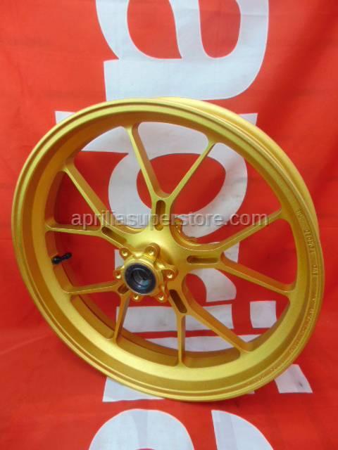 Aprilia - Front wheel, gold