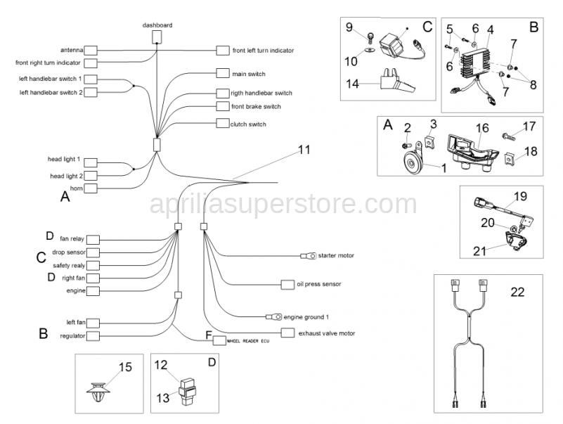 Hex socket screw M5x9