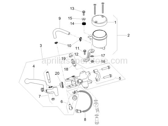 Front brake lever