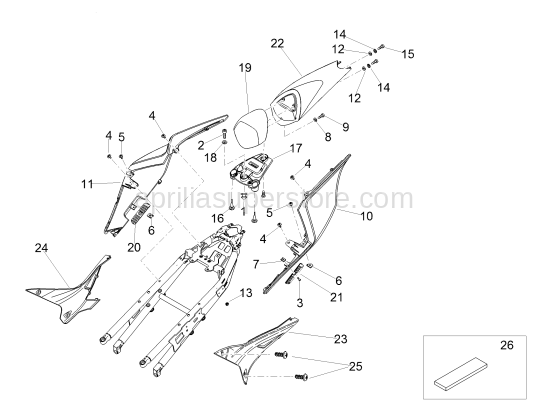 Hex socket screw M4x10