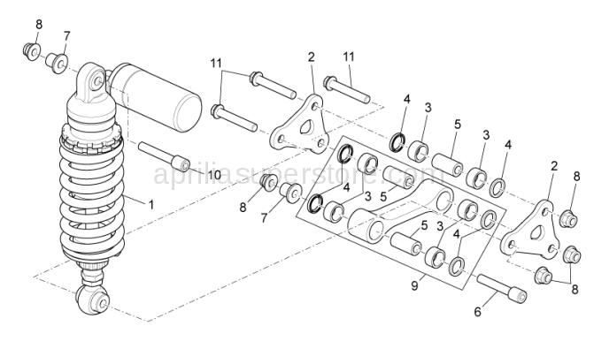Hex socket screw M10x72