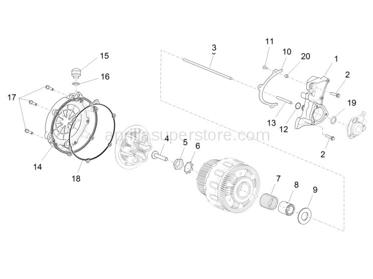screw TSPEI M5x20