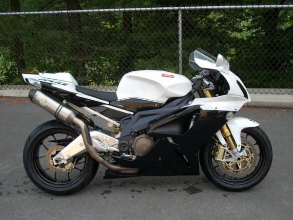 Custom Aprilia RSV Police Bike