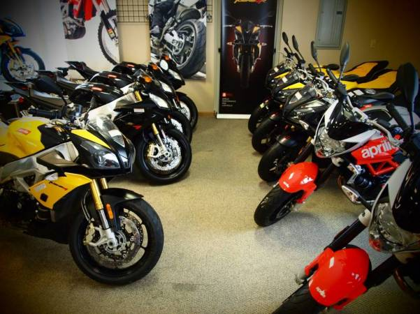 Our Aprilia Showroom