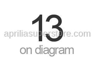 Aprilia - Spring plate M6