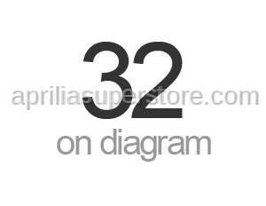 Aprilia - 2nd pinion gear Z=16