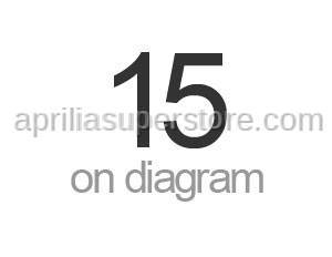 Aprilia - Screw m4x8