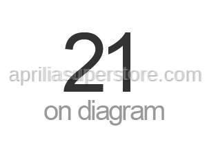 Aprilia - Hose clip D22x8,6*