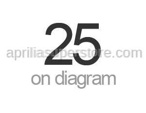 Aprilia - Roller cage plate